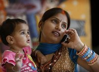 India llega a los 700 millones de usuarios mviles