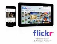 Flickr llega a Windows 7 y Windows Phone