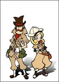 """""""Doctor Lautrec y los Guerreros Olvidados"""", juego de Puzles de Konami para la Nintendo 3DS"""