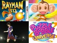 Los nuevos juegos que llegan con la Nintendo 3DS