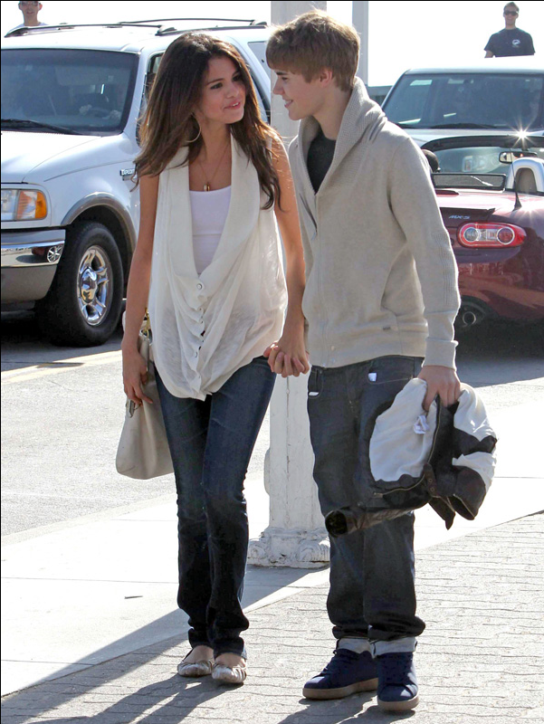 Justin Bieber y Selena Gmez: Reyes de la red