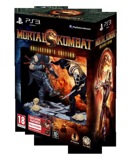 MK9 CE PS3 PEGI GB 3D