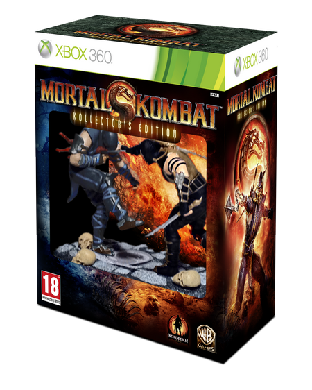 MK9 CE XBOX360 PEGI GB 3D