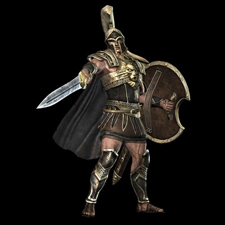Achilles_gold_art