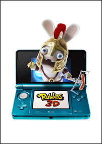 Los Rabbids ya est&aacute;n en 3D&#8230; para la Nintendo 3DS