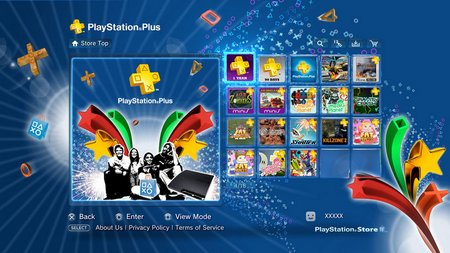 PlayStation plus screen