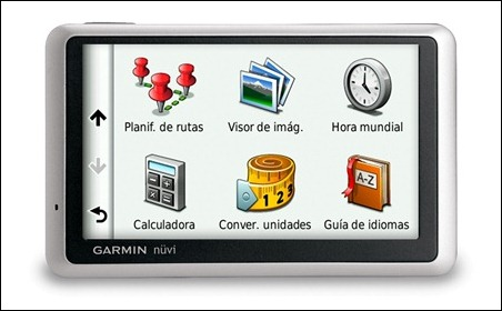 nuvi1340 guía de idiomas nota
