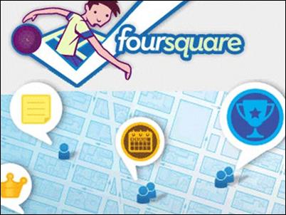 Foursquare estrena un nuevo sistema de notificaciones para Android