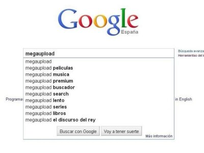 google megaupload