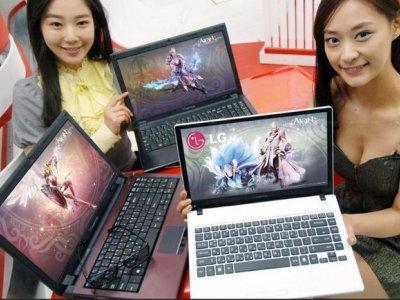 LG portátiles 3D