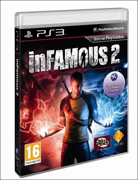 InFamous2_caratula_3D