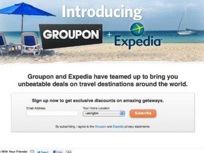 expedia groupon