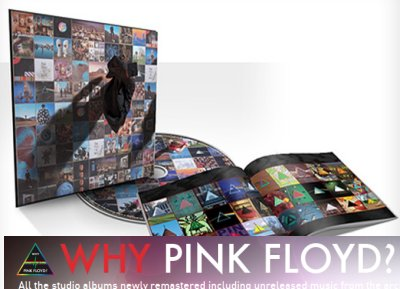 Pink Floyd, del vinilo a iPhone