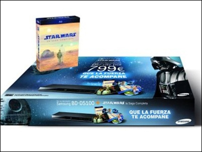 Pack Samsung Star Wars