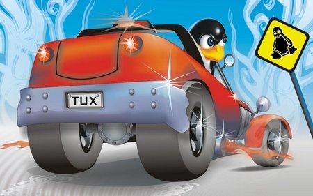 linux-coche