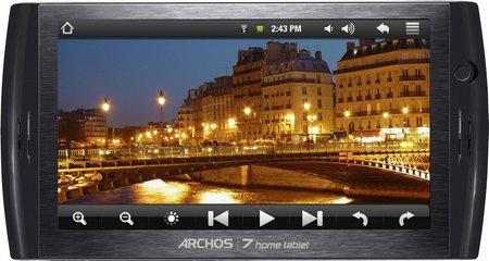 Archos 7 Home Tablet, la primera Tablet de gran pantalla y con Android