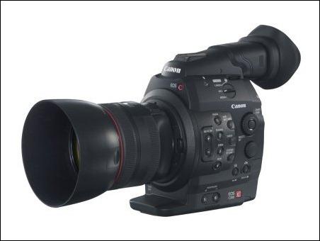EOS 300C FSL w EF 85mm 1.2 L II USM w HOOD