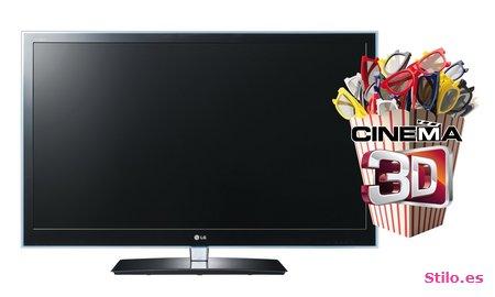 LG Cinema 3D: gran calidad con gafas pasivas y acceso completo a Internet