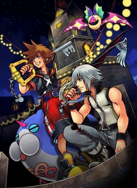 Kingdom Hearts 3D arte