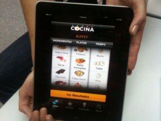 canal cocina iPad