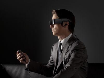 Gafas Multimedia Moverio BT-100 lifestyle