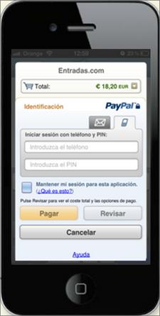 PayPal-Entradas