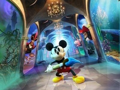 Disney Epic Mickey-Mundo misterioso