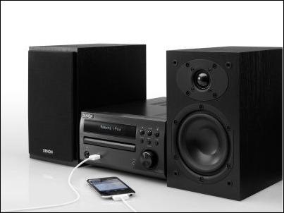 Denon D-M39 con iPod