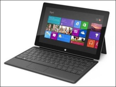 Microsoft lanzará en enero del 2013 el tablet Surface con Windows 8