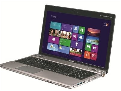 Toshiba Satellite W8