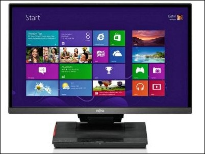 monitores-Fujitsu-Windows 8
