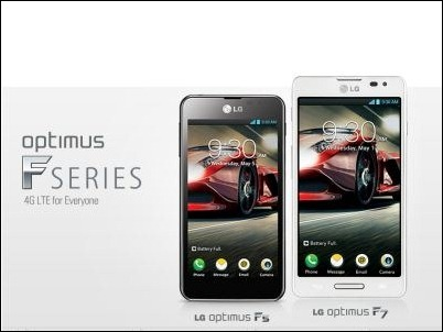 MWC 2013: LG Optimus F, los 4G/LTE populares