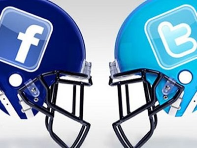 Twitter se impone a Facebook en la SuperBowl