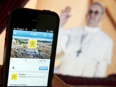 El Papa es el líder internacional más influyente en Twitter
