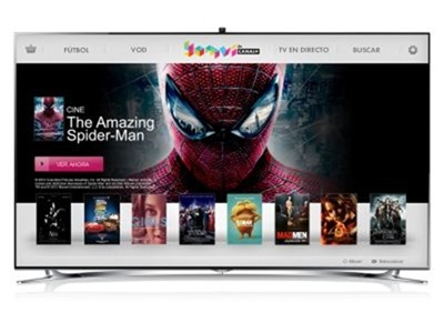 Samsung Smart TV estrena la aplicaci&oacute;n Yomvi de Canal+