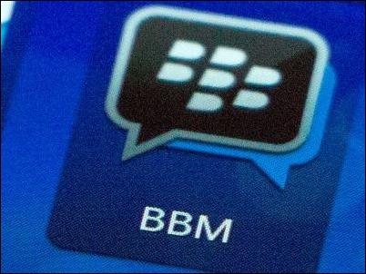 BlackBerry Messenger comienza prueba privada en equipos Apple y Android