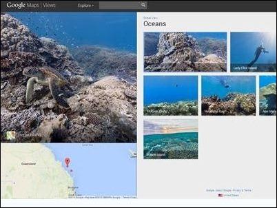 Google Street View Oceanos