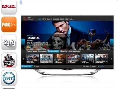 TotalChannel llega a los SmartTV de LG
