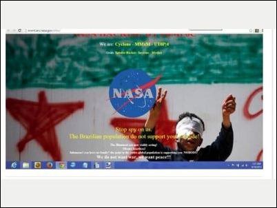 ataque hacker NASA