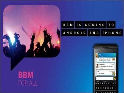 BlackBerry Messenger ahora te permite encontrar a tus amigos