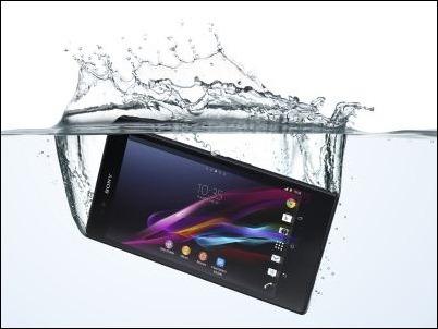 Xperia Z Ultra horizontal agua 2