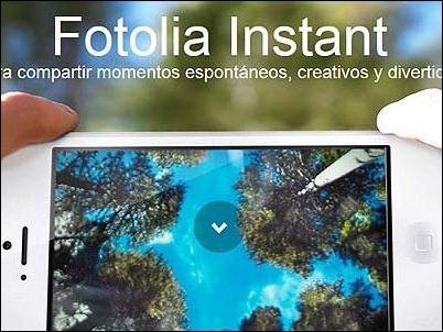 Fotolia Instant: La aplicación que te permite vender fotografías tomadas con tu smartphone