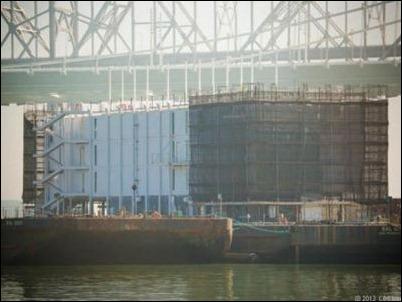 Google estaría construyendo una gran isla flotante en San Francisco para producir energía con agua marina