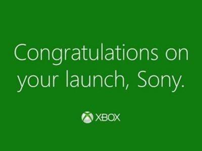 Microsoft felicita a Sony por el lanzamiento de la PS4