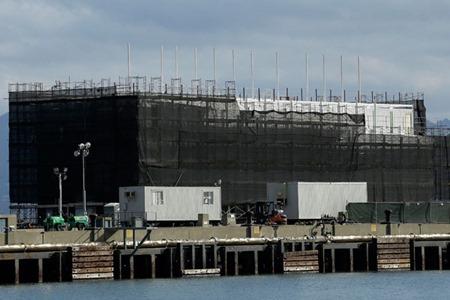 Google vende su barcaza amarrada en Maine