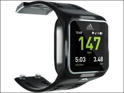miCoach Smart Run, GPS, frecuencia cardiaca y música en un solo dispositivo