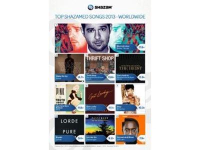 """Shazam: """"Thrift Shop"""" y """"Wake Me Up"""" lideran la lista de las canciones más taggeadas en 2013 en España"""