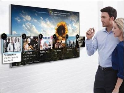 """Los """"smart TV"""" de Samsung se llenan de videojuegos y aplicaciones"""