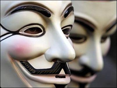Anonymous amenaza con publicar correos del Gobierno chino por protestas en Hong Kong