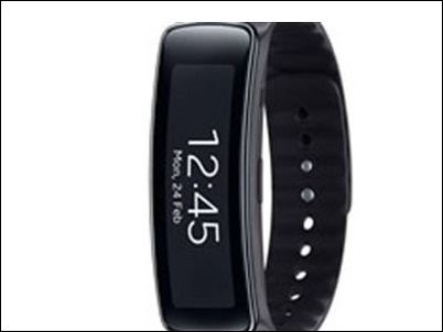 #MWC14: Gear Fit, la pulsera inteligente de Samsung con pantalla curvada Super AMOLED